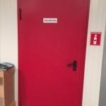 Εσωτερικες πορτες ασφαλειας  για εργοστασια