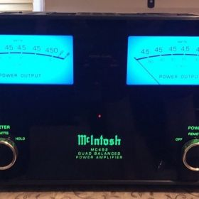 McIntosh MC452 Quad Ισχυρός Ενισχυτής Ισχύος - 450 Watt - Εξαιρετική